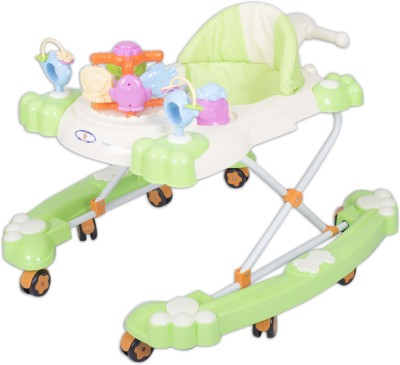 HLX-NMC 2 In 1 Baby Walker Cum Rocker Green (Green)
