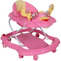Abhiyantt Harry & Honey Musical Baby Walker (Pink)