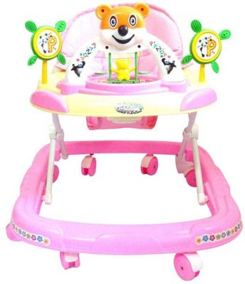 Panda Baby Adjustable Walker (Pink)