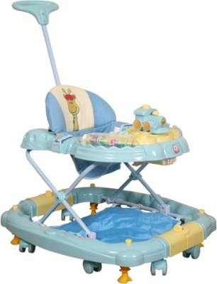 Deliababy Walker Cum Rocker Train (Blue)