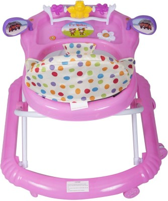EZ' PLAYMATES BABY WALKER DARK PINK (Pink)