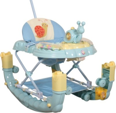 Deliababy Walker Cum Rocker Snail (Blue)
