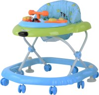 Toyhouse Baby Walker With Stopper (Blue, Green)