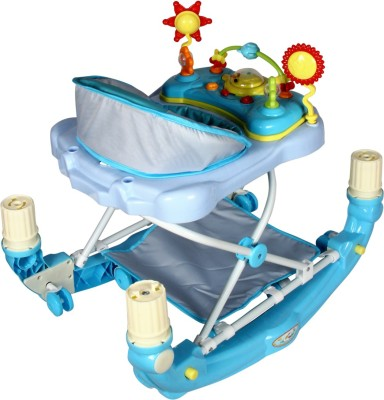 Toyhouse Teddy Baby Walker (Blue)