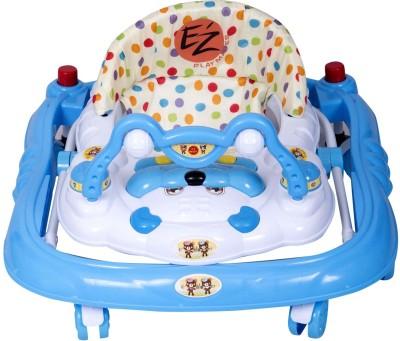 EZ' PLAYMATES BABY WALKER DELUXE BLUE (Blue)