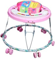 New Natraj Pamper Musical Baby Walker (Pink)
