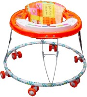 Brats N Angels Musical Baby Walker (Orange)