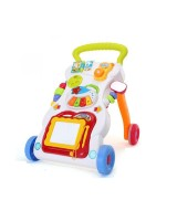 GoAppuGo Musical Baby Walker With Speed Control (White)