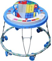 New Natraj Pamper Musical Baby Walker (Blue)