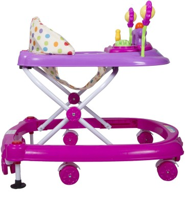 EZ' PLAYMATES HAPPY BABY WALKER PINK/PURPLE (Pink, Purple)