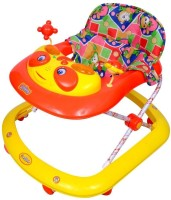 Brats N Angels Funride Crystal Musical Baby Walker (Red)
