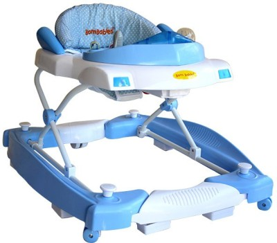 BORN BABIES BABY WALKER (Blue)