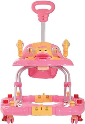 Luvlap Comfy Baby Walker (Pink)