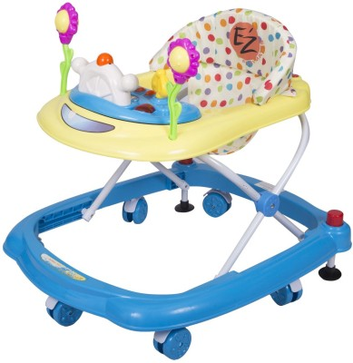 EZ' PLAYMATES HAPPY BABY WALKER BLUE/YELLOW (Blue, Yellow)