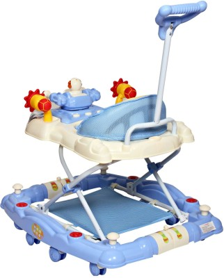 MeeMee Baby Walker Cum Rocker (Blue)