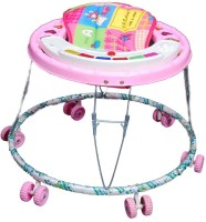 Brats N Angels Musical Baby Walker (Pink)