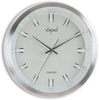 Opal Opal Designer - 5184 Analog Wall Clock (Silver)