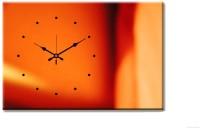 Design O Vista Single Panel - DV1-S-R4015 Analog Wall Clock (Multicolor)
