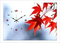 Design O Vista Single Panel - DV1-S-R4257 Analog Wall Clock (Multicolor)