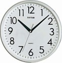 Rhythm CMG716NR03 Analog Wall Clock - White
