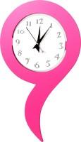 Vistaar Analog Wall Clock Pink