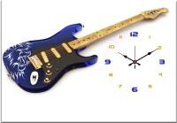 Design O Vista Single Panel - DV1-S-R4077 Analog Wall Clock (Multicolor)