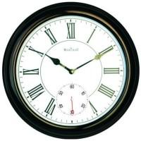 Wood Craft W-1189 Analog Wall Clock - Black