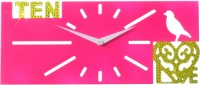Zeeshaan Analog Wall Clock Pink - WCKEYYREFH8AGSGN