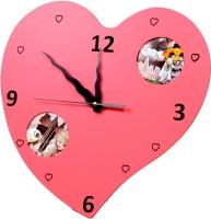 Vistaar Analog Wall Clock Pink - WCKEBAGQWUKT6V9U