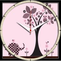 Shopmillions Smwc_070051 Analog Wall Clock (Multicolor)