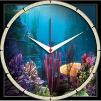 Shopmillions Smwc_070055 Analog Wall Clock (Multicolor)