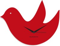 Blacksmith Red Flying Bird Analog Wall Clock Red