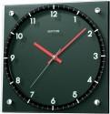 Rhythm CMG100NR02 Analog Wall Clock - Black