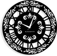 Blacksmith Fusion Black Analog Wall Clock Black