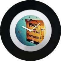 Cosmosgalaxy Zest Wall Clock Analog Wall Clock - Black - WCKEYAX2ZZP3YZBN