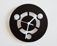 Blacksmith Circles In Harmony? Analog Wall Clock Black