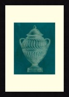 ART4U Modern Classic Urn II - Framed Print 16 Inch X 22 Inch (Multicolor)
