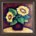 WENS Sunflower Painting - Muticolor