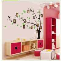 Asmi Collection Family Tree Wall Stickers (Multicolor)