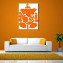 999Store Multiple Frames Printed Ganesha Like Modern Wall Art Painting - Multicolor