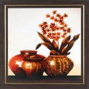 WENS Flower Art Painting - Multicolor