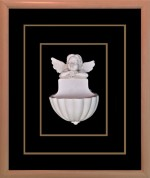 Antra Art Wall Decorations Antra Art Cupid with Flower Pot