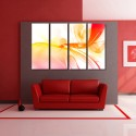 999Store Multiple Frames Printed Spectrums Like Modern Wall Art Painting - 4 Frames (127x76 Cm) - Multicolor