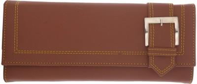 Cuddle Girls, Women Brown Fabric Wallet