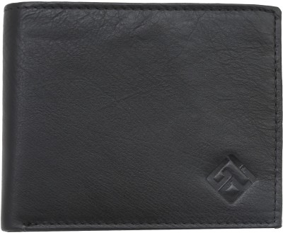 Giani Bernard Men Black Genuine Leather Wallet