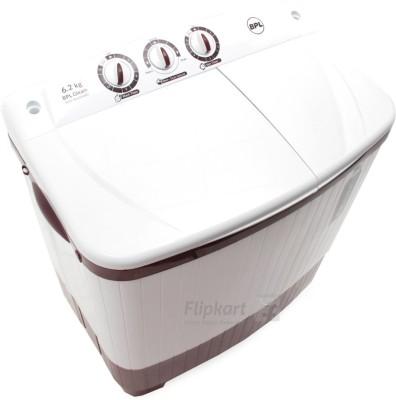 BPL 6.2 kg Semi Automatic Top Load Washing Machine (BSATL62N1)