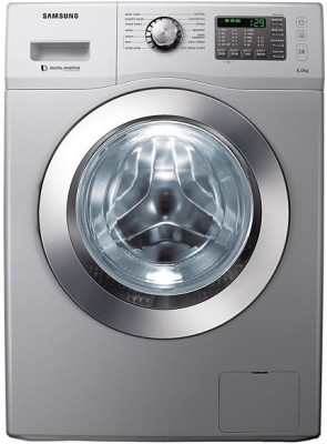 Samsung WF 652 U2B HSD 6.5 kg Fully Automatic Front Loading Washing Machine (Silver)