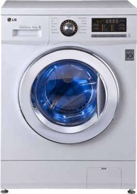 LG 7 kg Fully Automatic Front Load Washing Machine (FH296HDL23)