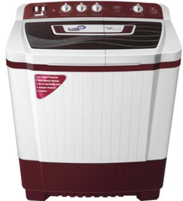 Videocon 8 kg Semi Automatic Top Load Washing Machine (VS80P14)