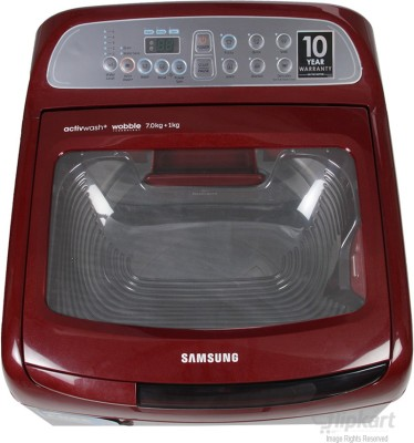 Samsung 7 kg Fully Automatic Top Load Washing Machine (WA70H4000HP)